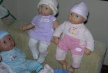 Le mie bambole da collezione della Zapf... / Le mie bambole da collezione con i loro accessori... / by Cristina Contilli