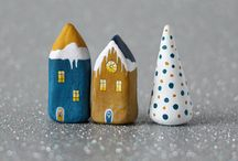 Christmas & Winter / Noël & Hiver  / Jolies décorations <3 / by Zelphie Cre-enfantin