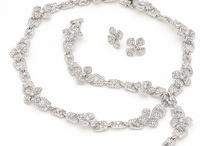 Bridal Necklaces that sparkle / by Fletcher & Grace Bridal Accessories