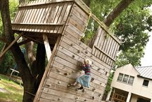Tree fort fun / by Erin Jacobsen