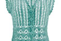 Crochet  blusas / by Martha Rodriguez