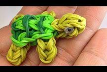 Clara's rainbow loom.  / by Rachael Nodes