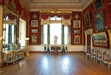 The Gallery / the gallery is the largest room at Harewood House, Yorkshire, spanning the whole width of the west side of the house. Exampling the architecture by Robert Adam, this room is considered one of his biggest achievements, and holds a wonderful collection of artwork. / by Harewood House