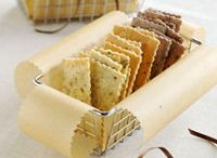 breads/ stix / crackers  / by Carol Morgan