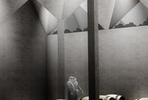 architectural graphics, rendering / by merve Mertol