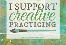 creative practicing / by Danielle Donaldson