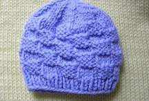 Knitting and Crochet Patterns - for newborn hats / by Alicia Jones