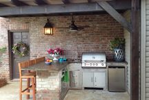 Outdoor kitchen / by Catherine Ni