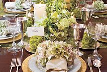 TABLE SETTINGS / by ❤.·:*¨¨*:·Peri Leigh Way .·:*¨¨*:·❤