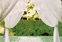 Wedding Ceremony Ideas / Dream Wedding Ideas!  / by Whitney Reynolds