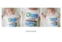 Personalized Baby Onesies / by Petite Lemon