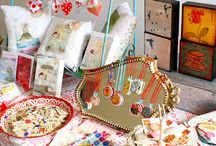 market stall styling ideas / by Christine Gaul