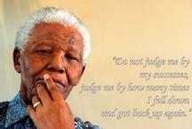 * A Tribute to Nelson Mandela * / by Y. w!ll!ams  ♥♥W!ll!e♥♥