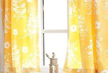 kitchen curtains / by Dorie Pyron