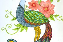 Peacock / by Melissa Ruff