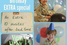Birthdays / by Liz Peterson