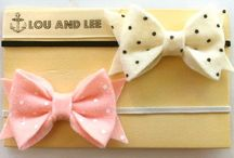 Hairbows and ribbons - Oh my! / by Maddie Stander