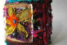 Art textile cuffs / by Diane Asselin