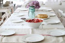 table settings / by Marissa {RowdyRunts.Etsy.com}