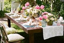 Wedding (and other party) Ideas / by Marine Nalbandian of Flower and Sugar Events