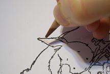 Drawing .. momma / by Renae Ba