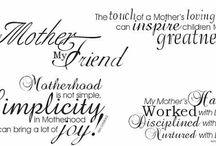 Mama Love / Celebrating Motherhood on Mother Day / by Lori Lehman