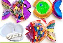 kids crafts / by Maria Zingas