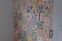 patchwork walls / by LESLEY GILLARD