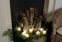Christmas decor / by Cindy White