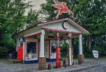 old gas station and grocery stores / by Betty Walker Sullivan