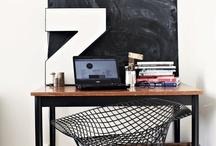 Homework )( work space )( home office / Trabajar en casa, ideas y soluciones / by Santi García
