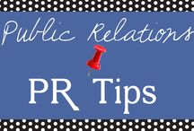 PUBLIC RELATIONS (PR) TIPS / by PuTTin' OuT Social Media Marketing