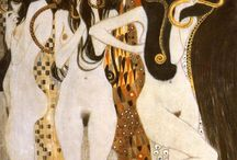 Gustav Klimt's Great Nudes / by Jeffrey Wiener