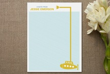 Minted Designs / by Ellison Reed