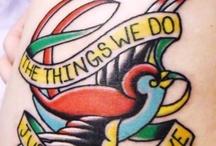 Tattoos / by Meagan Preston