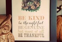 Thanksgiving Ideas / by Gretchen | Three Little Monkeys Studio