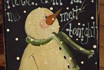 Snowmen / by Melitta Penwell