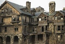 Castles, old homes and abandoned buildings  / by Phyllis Elliott
