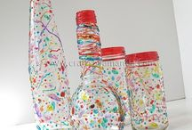 glass bottles / by Dana Chapman Madison