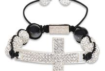 F.O.G. CROSS CHRISTIAN BRACELET - White Diamond / Be bold and stylish with the NEW F.O.G. Cross Bracelets! Each bracelet is specially hand-made, light weight and adorned with brilliant cut pave crystals for a beautiful shine. The F.O.G. FAVOR OF GOD logo is carved at the tie of bracelet. These cross Christian bracelets are a symbol of God's favor, faith, peace and happiness! Rock your F.O.G. Favor Bracelet in style and stand out like a true star! #FOG Christian Bracelets  #Christian Cross Bracelets #Christian Bracelets / by F.O.G. FAVOR OF GOD