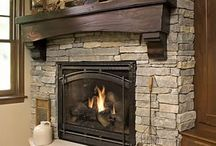Rock Fireplaces / by Donna Gilliland