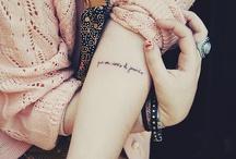 tattoos i <3 / by Angela Hernandez
