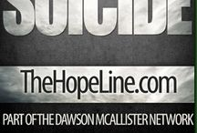 Suicide (H4HK) / Resources for young people and those who care about them related to suicide). For more resources related to this topic and a list of our partners, visit http://Hope4HurtingKids.com. / by Hope 4 Hurting Kids