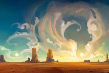 Desert, sand, rocks and inspirations / Desert, sand, rocks and inspirations / by Rafael Delboni