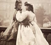 1853 - 1869 Victorian Costume  / Crinoline dresses and oval hoop dresses. / by Costume Diaries