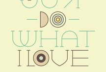 Poster Art and Quotes / by Inspire Bohemia