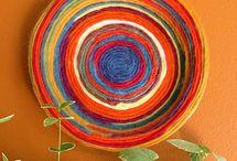 Yarn Crafts / knitting, crochet, weaving, etc. / by The Crafty Crow