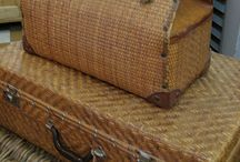 Antique Suitcases / by Deborah Jennings