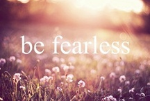 2014 Personal Word of the year / I have chosen to be fearless in 2014!! / by Janine Lee