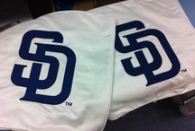 Embroidery / EmbroidMe San Diego can embroider your custom logo on just about anything. Want embroidered company shirts? Custom embroidered hats?  Monogrammed towels? We can do that!   / by EmbroidMe San Diego !